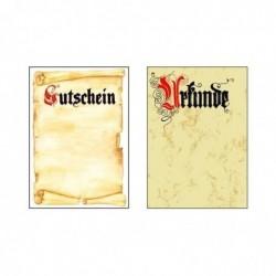 """SIGEL Design-Papier, DIN A4, Motiv """"Urkunde Calligraphie"""""""