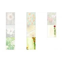 """SIGEL papier design, format A4, 90 g/m2,motif """"Spring fever"""", 25f"""