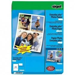 SIGEL Papier photo jet d'encre Everyday-plus, format A4,
