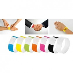 "SIGEL bracelet d'identification ""Super Soft"", blanc"