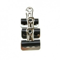 MAPED Boite de 12 pinces à dessin métal 32 mm Cap 6mm noir / argent