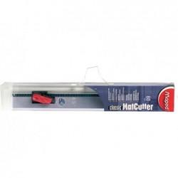 MAPED Kit MatCutter Classic (outil de coupe 45° + règle alu 60 cm antidérapante