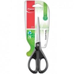 MAPED Ciseaux Essentials GREEN Symétrique bout rond 17 cm