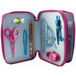 MAPED Trousse d'écolier Girly en polyester Garnie