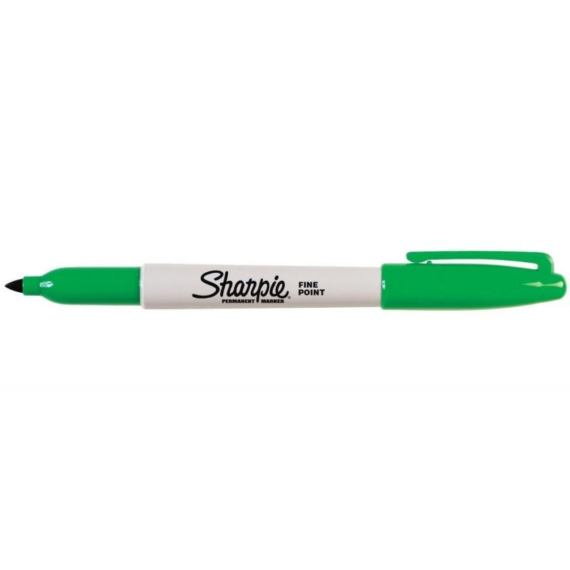 SHARPIE Marqueur permanent FINE Pte Ronde Vert