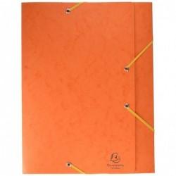 EXACOMPTA CARTOBOX Nature Future Carte Lustrée Dos 60 mm Orange