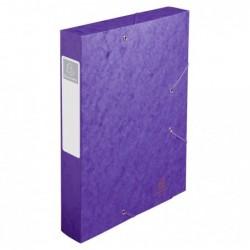 EXACOMPTA CARTOBOX Nature Future Carte Lustrée Dos 60 mm Violet