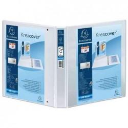 EXACOMPTA Classeur personnalisable Kreacover Dos de 60, A4 Maxi