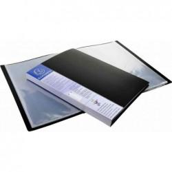 EXACOMPTA Protège-documents UPLINE PP Opaque 40 pochettes 80 vues Noir