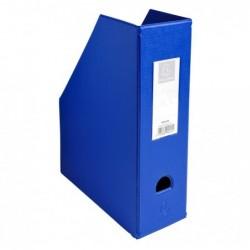EXACOMPTA Porte revue Dos 100mm PVC Bleu