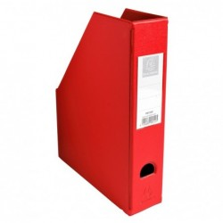 EXACOMPTA Porte revue Dos 70mm PVC Rouge