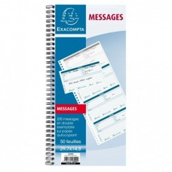 EXACOMPTA Bloc messages...