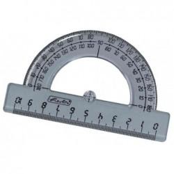 HERLITZ Rapporteur demi-circulaire 180 degrés 10 cm