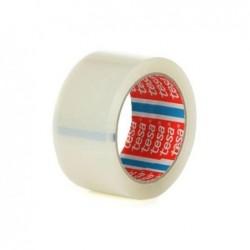 TESA Lot de 6 Rubans adhésif d'emballage 4195 PP 50mm x 66 m Transparent