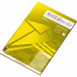 MAILMEDIA paquet de 10 pochettes d'expédition marron natron, B4, sans fenêtre