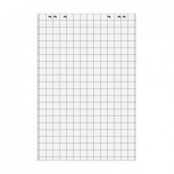 MAUL Pack de 5 Bloc 20 feuilles de conférence 67,5x98 cm Quadrillée Blanc