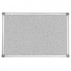 MAUL Tableau pour punaises 2000 MAULpro structuré,90x120 cm Gris