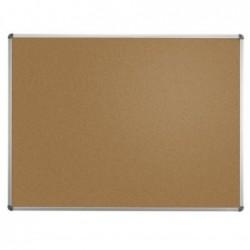 MAUL Tableau liège MAULstandard cadre alu 60 x 90 cm Gris