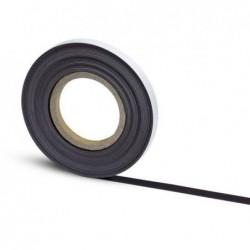 MAUL Bande magnétique auto-adhés. 10 m x 15 mm x 1 mm