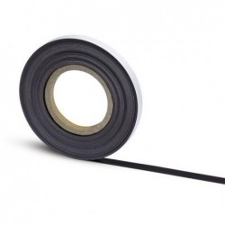 MAUL Bande magnétique auto-adhés. 10 m x 35 mm x 1 mm