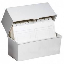 DAUPHIN Boîte portative DIN A7 Classic Gris lumière