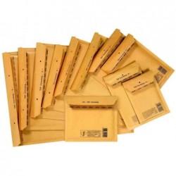 TAP pack de 100 Pochettes d'expédition à bulles d'air pour CD COMEBAG