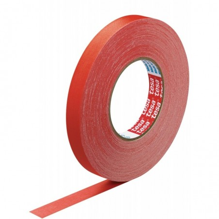 TESA Ruban toilé adhésif Extra power 19 mm x 50 m Rouge