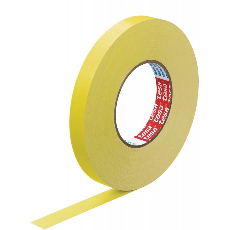 TESA Ruban toilé adhésif Extra power 19 mm x 50 m Jaune