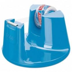 TESA Dévidoir de table Easy Cut Compact, équipé, bleu