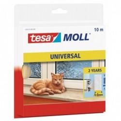 TESA Moll UNIVERSAL calfeutrage mousse 9 mm x 10 m blanc