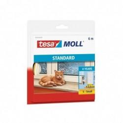 TESA Moll joint en mousse, autoadhésif, blanc, 9 mm x 6 m