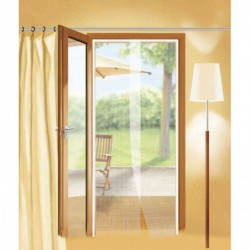 TESA moustiquaire COMFORT pour portes, 2x dont 0,65m x 2,50m