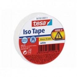 TESA Ruban isolant ISO TAPE 15 mm x 10 mm Blanc