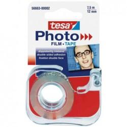 TESA Dévidoir de film adhésif Photo double face 12 mm x 7,5 m