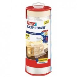 TESA Film de protection Easy Cover Premium avec Dérouleur 1400 mm x 33 m