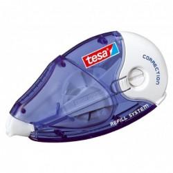 TESA Pack de 2 rollers correcteur 4,2mm x 14m Rechargeable