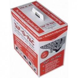 TAP Film à bulles d'air -0-PAC, en carton distributeur