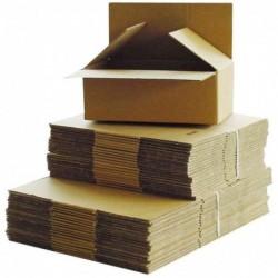 HAPPEL Pack de 20 cartons ondulés à déplier 818 (L)200 x (l)140 x (H)110 mm