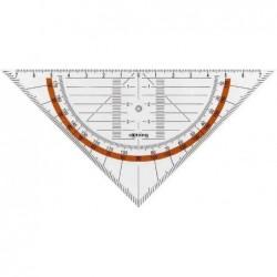 ROTRING Equerre géométrique Centro hypoténuse 16 cm