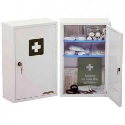 LEINA-WERKE Armoire à pharmacie Medisan B non équipée L300 x H460 mm Blanc