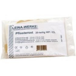 LEINA-WERKE LEINA set de pansements 20 pièces, élastique/imperméable eau