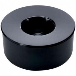 DURABLE Cendrier KULAN Rond 13 cm Noir