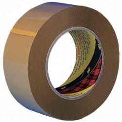 SCOTCH Pack de 6 Rubans adhésif d'emballage 371 PP 38 mm x 66 m Marron