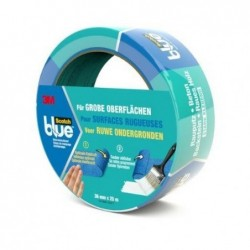 SCOTCH Ruban de masquage pour surfaces rugueuses 36 mm x 25 m Bleu