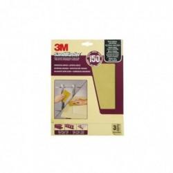 3M Papier abrasif à haut rendement SandBlaster, moyen/P150