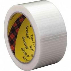 SCOTCH Ruban adhésif filament 8959, 50 mm x 50 m, transparent