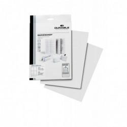 DURABLE Pqt de 80 étiquettes pour badge à imprimer format A6