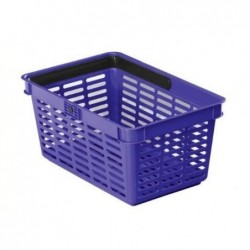 DURABLE Panier à provision SHOPPING BASKET 19L Empilable Bleu
