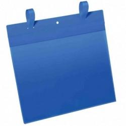 DURABLE Pochettes avec languette pour casier en treillis, A5