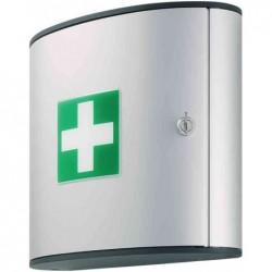 DURABLE armoire premier soins M, Design FIRST AID BOX, argenté non équipé